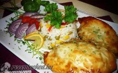 Érdekel a receptje? Kattints a képre! My Recipes, Favorite Recipes, Hungarian Recipes, Hungarian Food, Wok, Baked Potato, Eggs, Cheese, Chicken