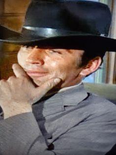 Doug Mcclure, James Drury, Actor James, The Virginian, Panama Hat, Beautiful Men, Baseball Hats, It Cast, Handsome