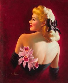 My addiction to InkMaster has made me love Pinup art.   It was sexy without being lewd.  Very feminie