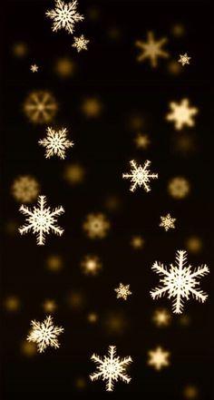 Black and gold snowflake snow winter Christmas snowflake Christmas snowflake