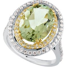Ring Mounting for Oval Shape Gemstone. Find it at Hayman Jewelry Co.