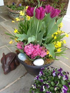 Wunderbar Garten Dekorieren Zu Ostern Und Fröhlich Festliche Stimmung Verbreiten   50  Osterdeko Ideen Für Den Garten