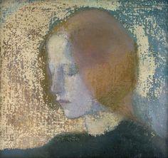 Fragment Painting by Helene Schjerfbeck Helene Schjerfbeck, Large Painting, Figure Painting, Painting Prints, Paintings, Portraits, Portrait Art, Scandinavian Art, Figurative Art
