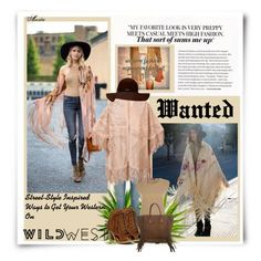 """""""Get Your Western On"""" by wodecai ❤ liked on Polyvore featuring Yves Saint Laurent, Nature Breeze, Balmain, Drome and Prada"""