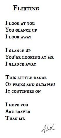 short crush poems for her