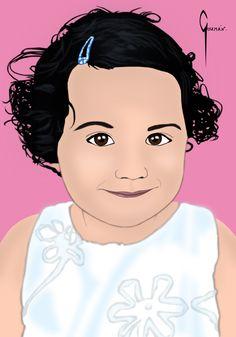 Retrato niña.