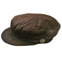 Jaxon /& James Brown Oilcloth Waterproof Traditional Flat Cap Hat