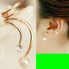 Phoenix Tail Ear Cuff (Single, No Piercing, Adjustable) | LilyFair Jewelry, $14.99!