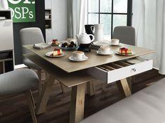 4 You by Vox (Piotr Kuchciński) Komodo, Dining Bench, Polish, Furniture, Design, Home Decor, Dining Room Bench, Vitreous Enamel, Table Bench