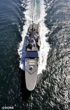 French Marine Nationale FREMM Aquitaine.