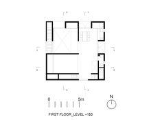 Gallery of Poli House / Pezo von Ellrichshausen - First Floor Level