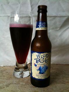 Bert's Beer Blog - Wild Blue #wildblue #beer #drink #alcohol #bertsbeerblog #ysh #yourstudenthousing #peerthought