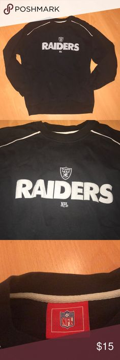 Raiders sweater Used condition Sweaters
