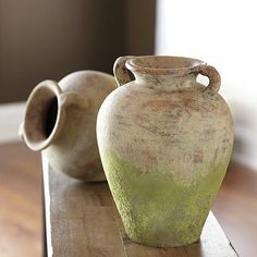 DIY:: How to Create Ballard Designs Aged Terra Cotta Finish on Any Recycled Jar, Vase, Pot, ect. (Excellent Tutorial)