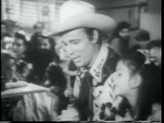 """A clip form """"Song of Texas""""  (1943) Roy Rogers & Trigger visit kids in the hospital."""