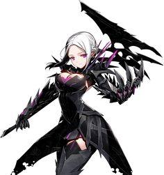 シュバリエシリーズ レヴィア Closers Online, Halloween Fashion, Picture Collection, Fashion Art, Darkness, Blade, Anime, Character, Games