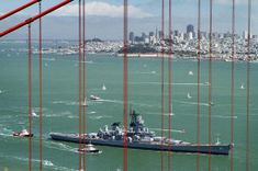 Battleship Iowa's final journey - Framework - Photos and Video - Visual Storytelling from the Los Angeles Times