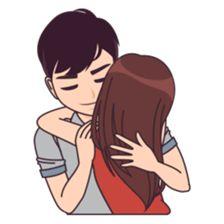 Ideas memes funny love words for 2019 Love Cartoon Couple, Chibi Couple, Cute Couple Art, Anime Love Couple, Cute Couples, Cute Love Stories, Cute Love Pictures, Cartoon Pics, Cute Cartoon