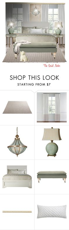 """Zen sleep"" by theserialnester ❤ liked on Polyvore featuring interior, interiors, interior design, home, home decor, interior decorating, Currey & Company, Dot & Bo and CB2"