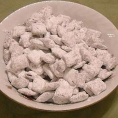 puppy chow--never would've thought of this