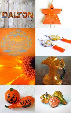 Obviously Orange by Paula on Etsy--Pinned with TreasuryPin.com