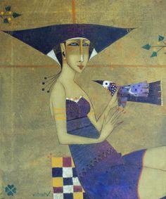 Peter Mitchev, paintings - ego-alterego.com