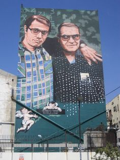 Stand and Deliver mural, MacArthur Park, Los Angeles