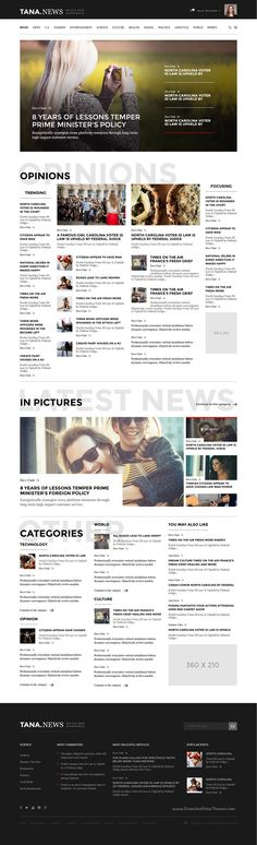 Tana Magazine is wonderful responsive premium 14 in 1 bootstrap template for #News, Entertainment, Fashion #magazine website download now➝ https://themeforest.net/item/tana-magazine-news-entertainment-fashion-template/16207440?ref=Datasata