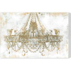 Gold Diamonds Canvas Print, Oliver Gal at Joss and Main