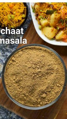 Pakora Recipes, Chaat Recipe, Kulfi Recipe, Masala Powder Recipe, Masala Recipe, Chaat Masala, Masala Curry, Indian Dessert Recipes, Indian Snacks