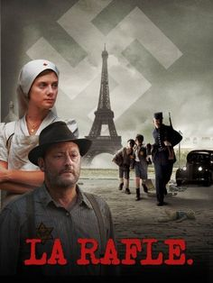 Starring Jean Reno and Melanie Laurent, Rose Bosch's La Rafle recounts the true story of the infamous Vel 'D'Hiv Roundup. A big box office hit in France, La . Jean Reno, Casablanca, Top Movies, Movies To Watch, Work In French, Melanie Laurent, Amazon Instant Video, French History, Movie Covers
