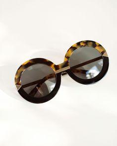 Karen Walker Hollywood Pool sunglasses in crazy tort ☀️