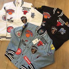 "8a52f6fbf FOOL S JUDGE フールズジャッジ on Instagram  ""🚨買取情報🚨 Supreme 18ss × NBA. × NBA AIR  FORCE 1 MID. 30.000円買取. ×NBA Team Warm Up Jacket 黒."