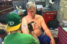 The Jets football team fired coach Rex Ryan in December, and the Buffalo Bills hired him two weeks later. So, what should he do with the tattoo of his wife wearing a Jets Jersey?