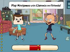 Clarence's Amazing Day Out - A Collection Of Fast, Funny Minigames App by #CartoonNetwork #Kids #Game #Apps