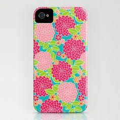 Dancing Dahlia iPhone Case by Diane Kappa - $35.00