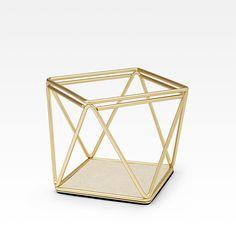 Porta-joias Dourado