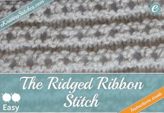 Eyelet & Lace Stitches tend to add an air of elegance to any knitting project. You can browse our collection of free eyelet and lace knitting instructions.