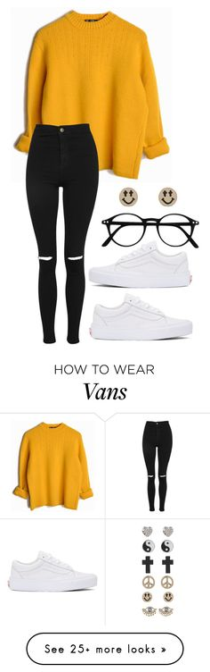 """Sunday morning rain is falling"" by freedom2095 on Polyvore featuring Vans, Topshop and 1&20 Blackbirds"