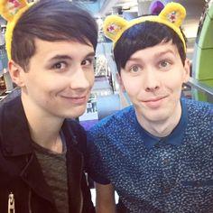 p h a n t r a s h Dan and Phil Danisnotonfire Amazingphil