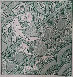 Henna Painting - Henna Fine Art Print
