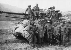 Tankers of the Korean War--US and British