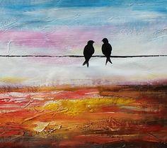 Oil Painting Canvas Art Framed Painting Original Art por Topart007