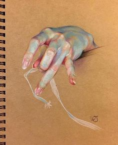 pencil drawings - Awesome Painting by WanJin Gim Anatomy Drawing, Anatomy Art, Hand Drawing Reference, Art Reference, Hand Kunst, Art Sketches, Art Drawings, Pencil Drawings, Gravure Illustration