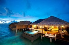 Ayada Maldives Resort, on the island of Maguhdhuvaa, in the Gaafu Dhaalu Atoll district.