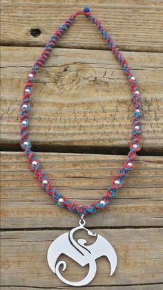 Strange Music Superman Swirl Hemp Necklace