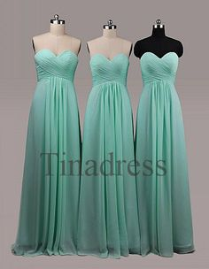 Custom Mint Long Bridesmaid Dresses 2014 Fashion Prom Dresses Wedding Party Dress Formal Party Dress Evening Gowns Homecoming Dresses on Etsy, $89.00