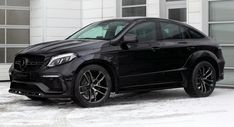 TopCar Mercedes GLE 350d Coupe Costs As Much As A Stock AMG 63 S