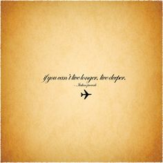 Go and Wander: quote: travel philosophy