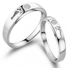 Price One Pc Silver Gnzoe Men Wedding Rings Twist Wave Cubic Zirconia Rings 3mm//3.5mm